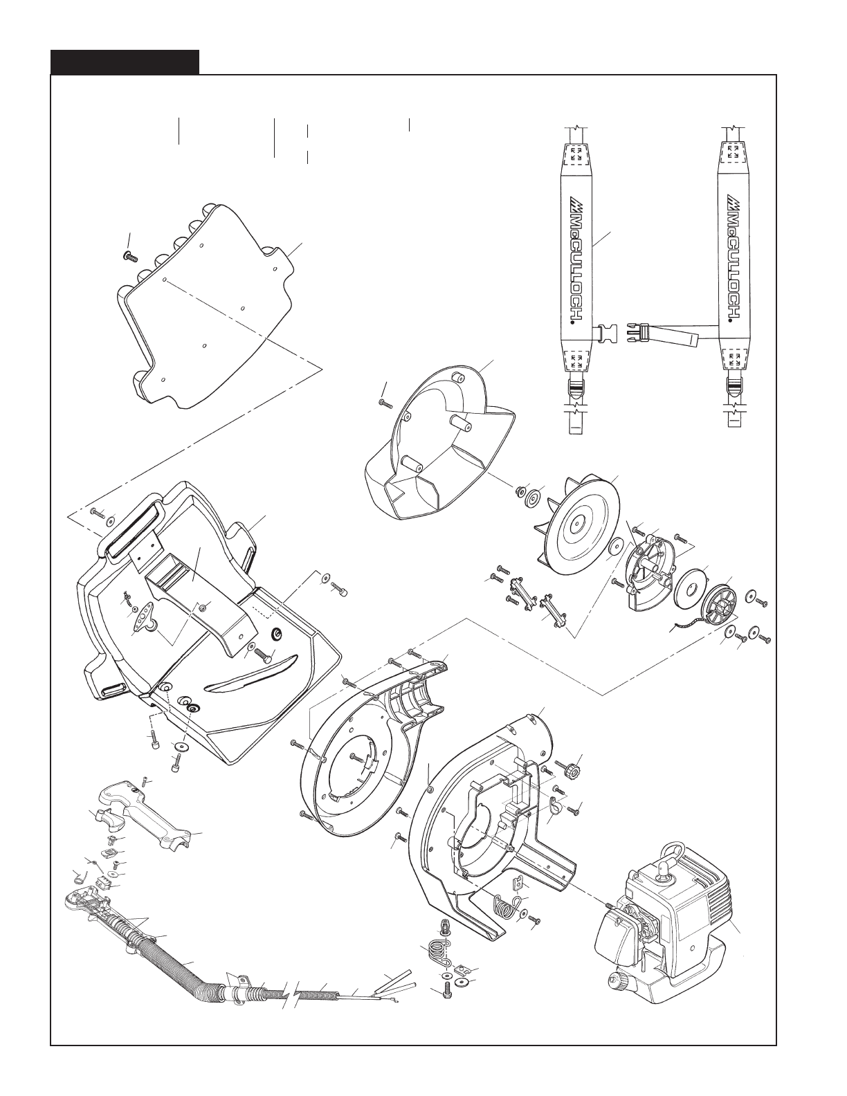 Page 4 of McCulloch Blower MAC 325BP User Guide