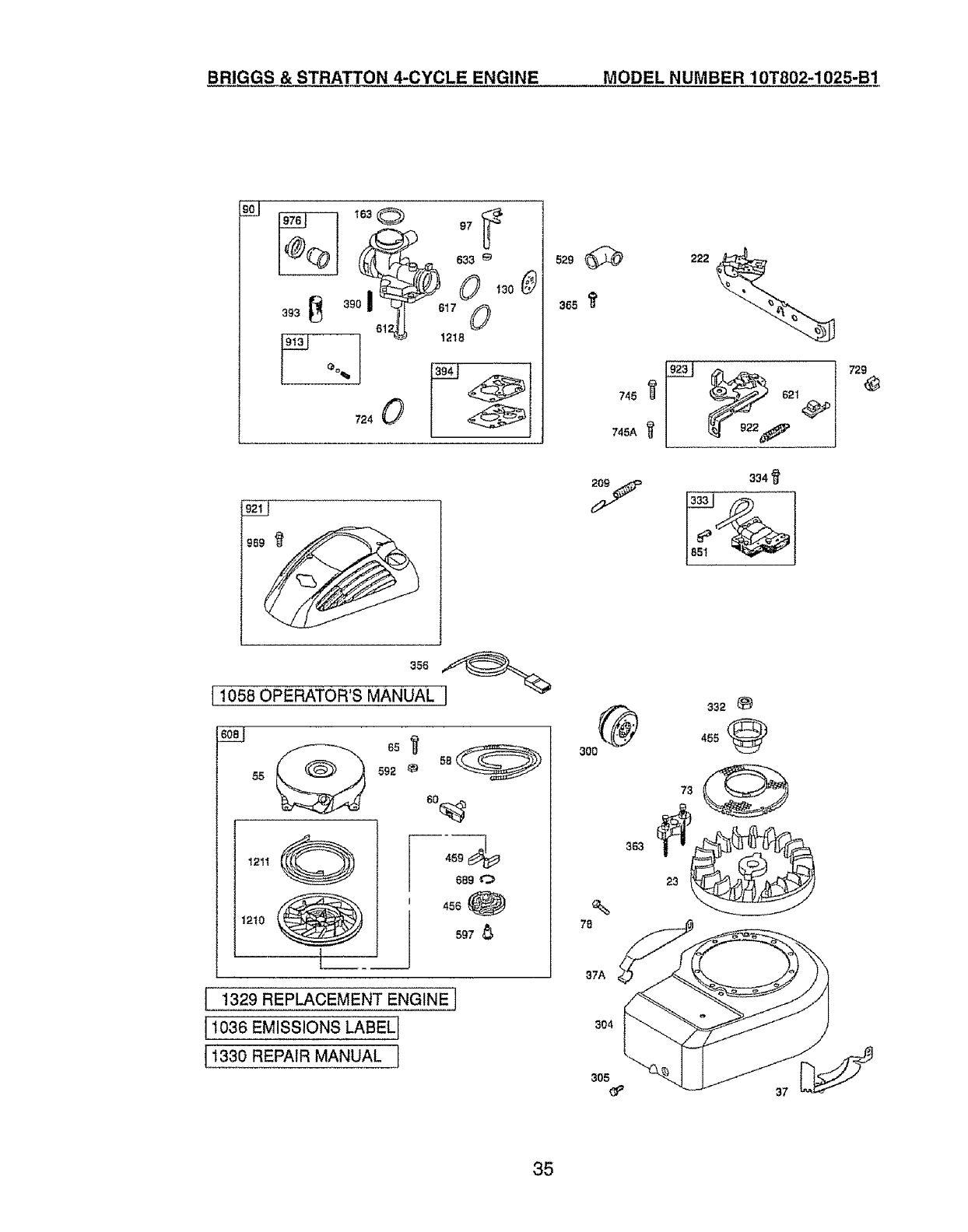 Page 35 of Craftsman Lawn Mower 917.385125 User Guide