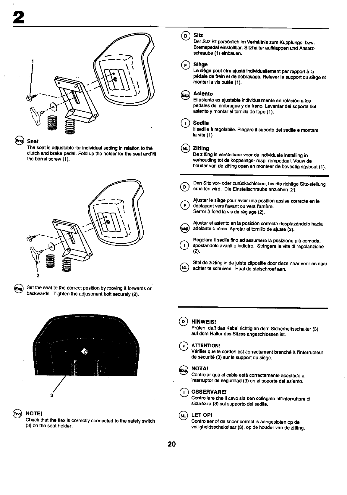 Page 20 of Craftsman Lawn Mower 25949 User Guide