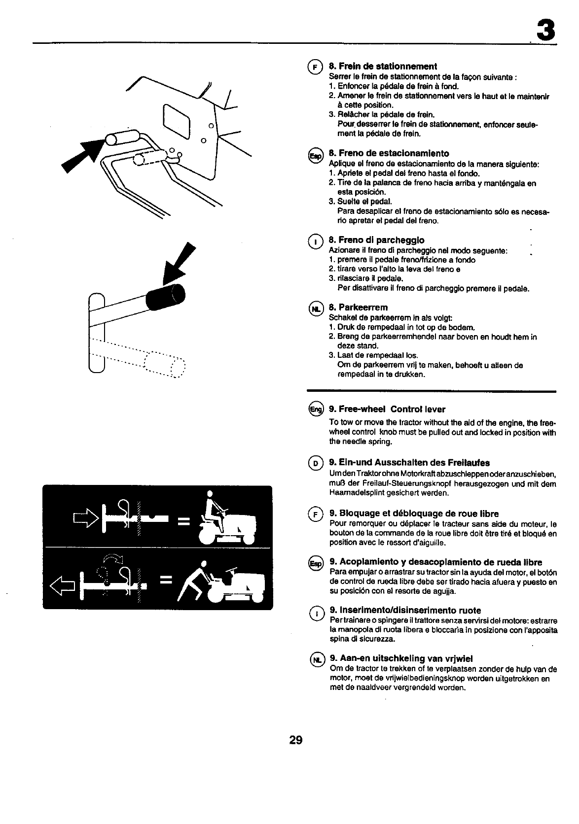 Page 29 of Craftsman Lawn Mower 25949 User Guide