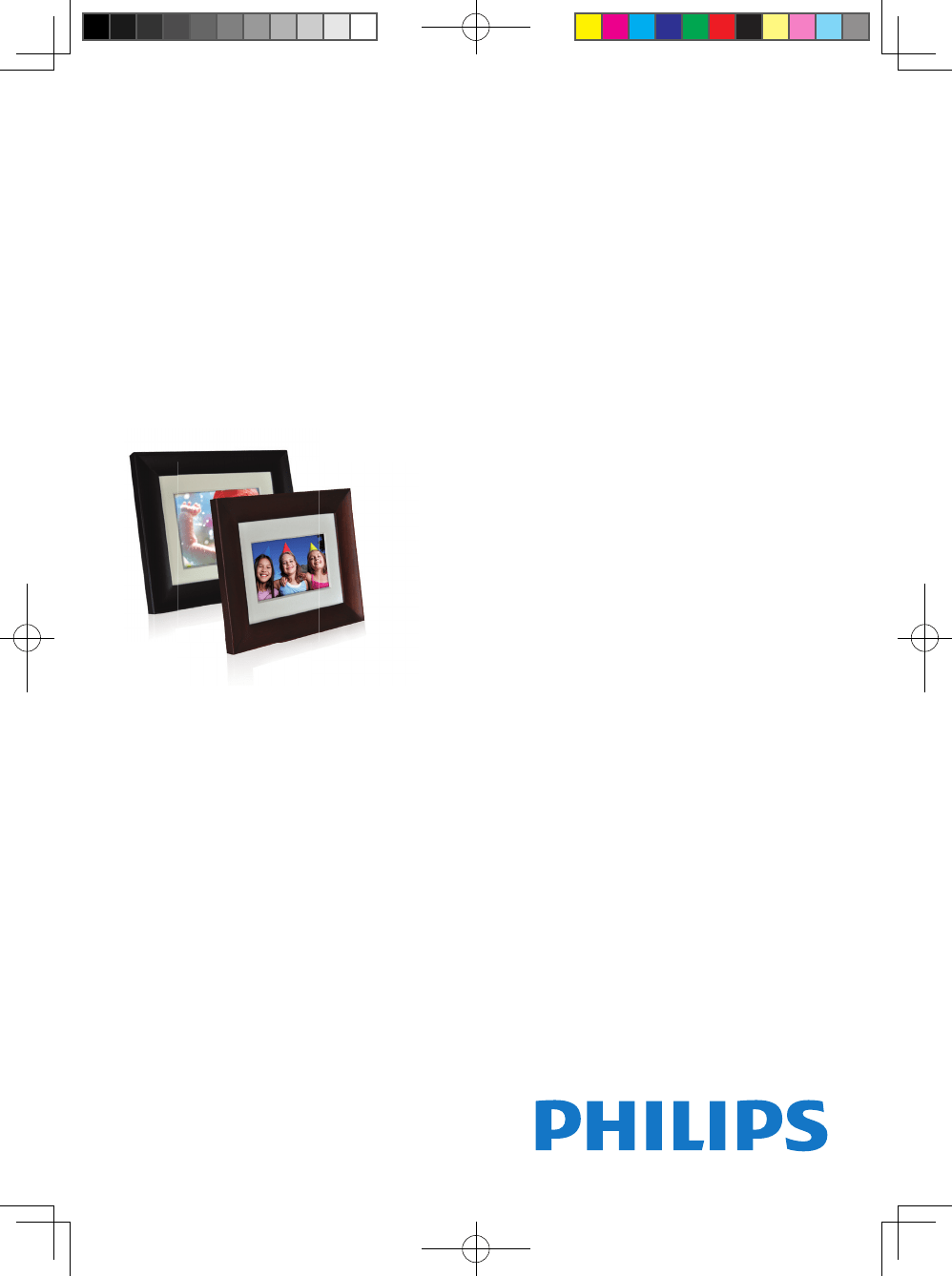 Philips Digital Photo Frame SPF3007/G7 User Guide