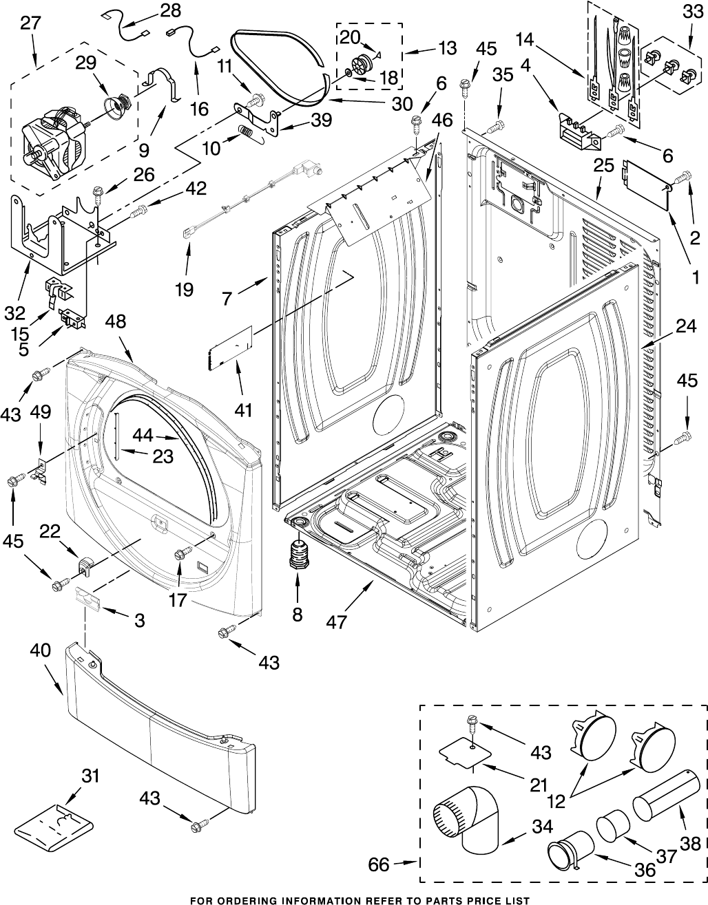Page 3 of Whirlpool Clothes Dryer WED8300SW1 User Guide