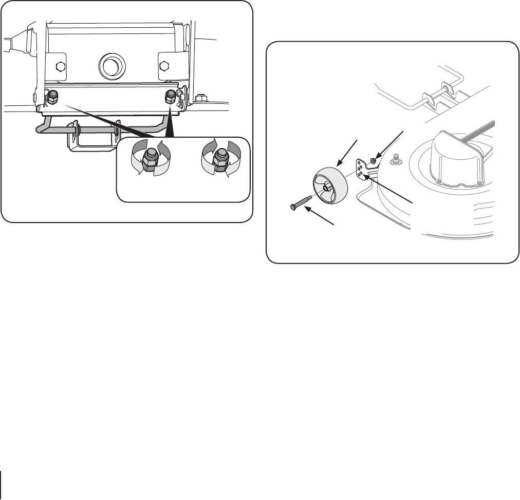 Page 22 of Cub Cadet Lawn Mower I1042 User Guide