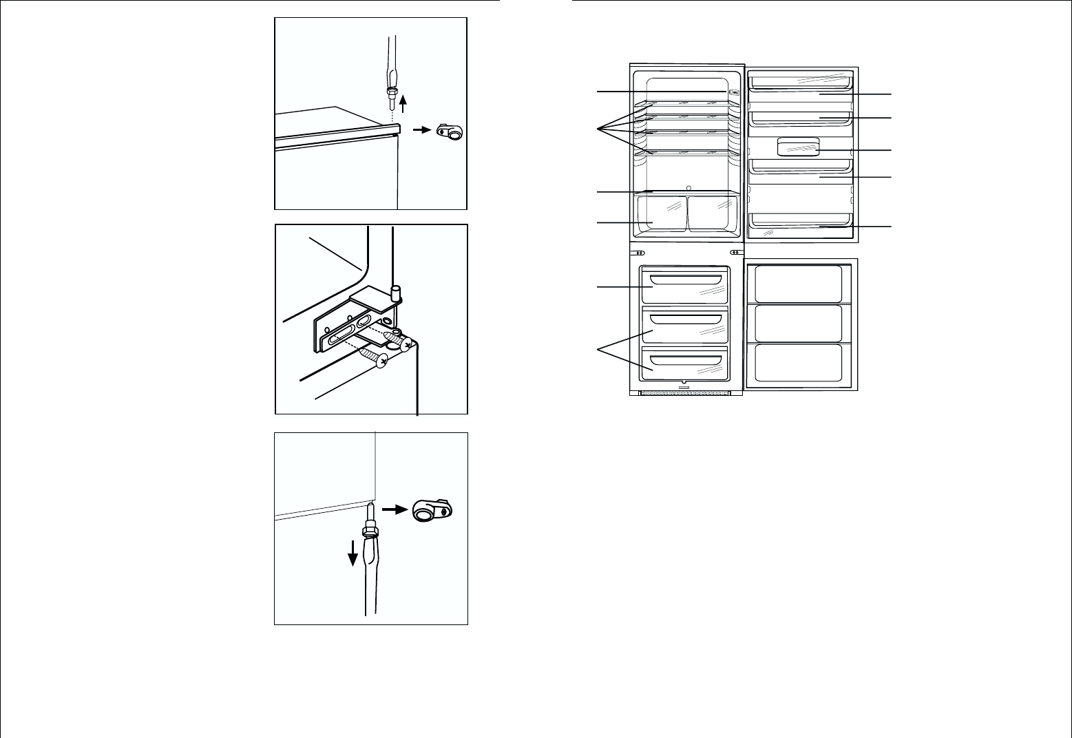 Page 7 of AEG Refrigerator C 7 18 40-4I User Guide