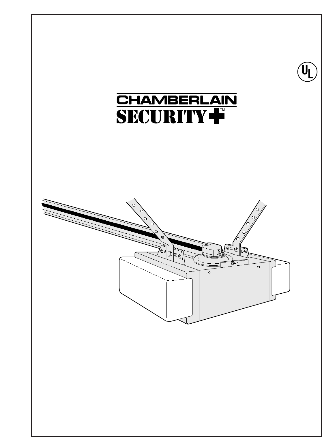 Chamberlain Garage Door Opener 8200 1/2 HP User Guide