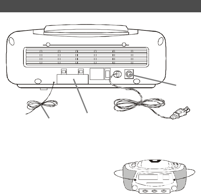 Page 10 of Lenoxx Electronics CD Player CDR-190 User Guide