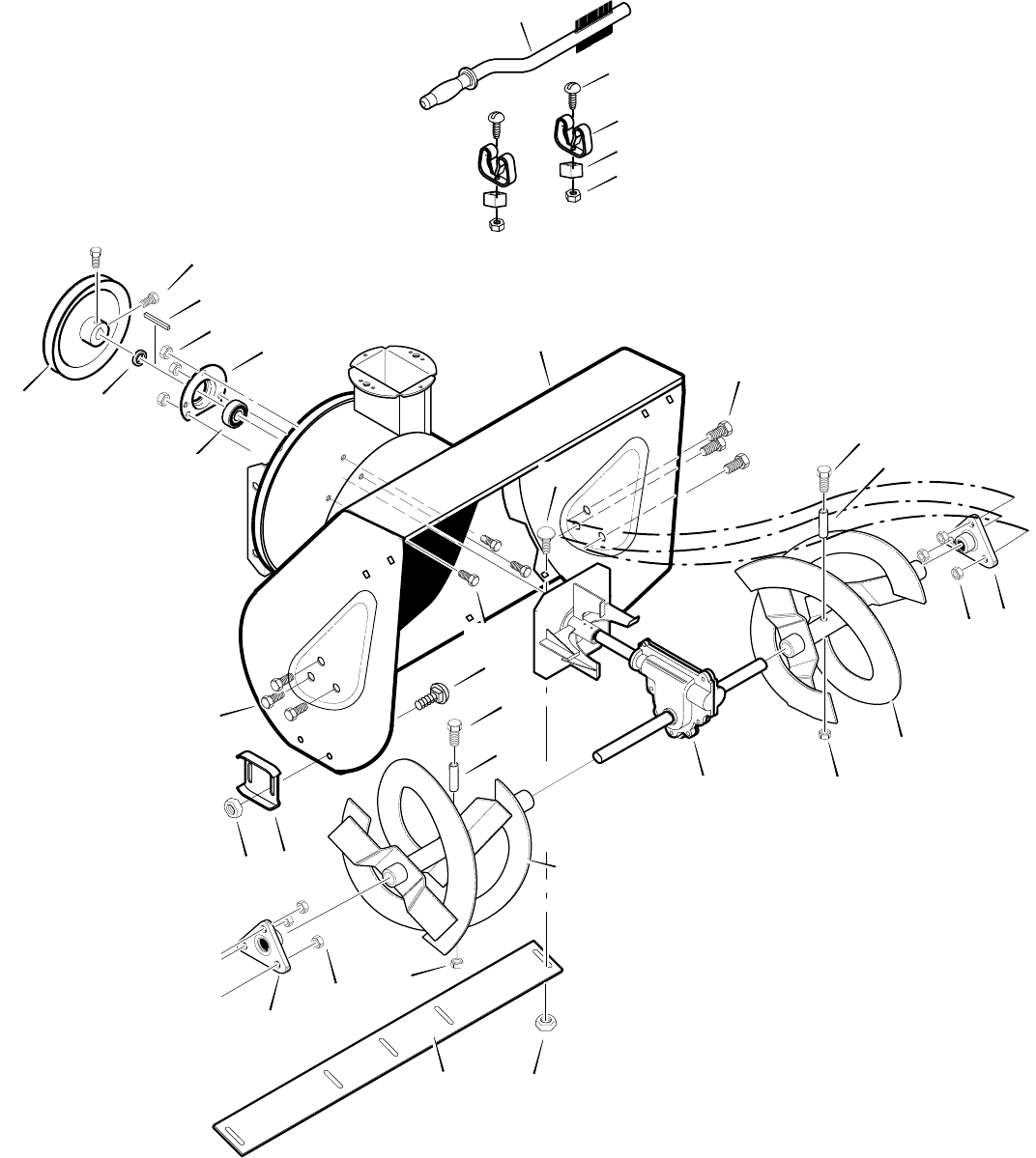 Page 42 of John Deere Snow Blower MTF-031071L User Guide