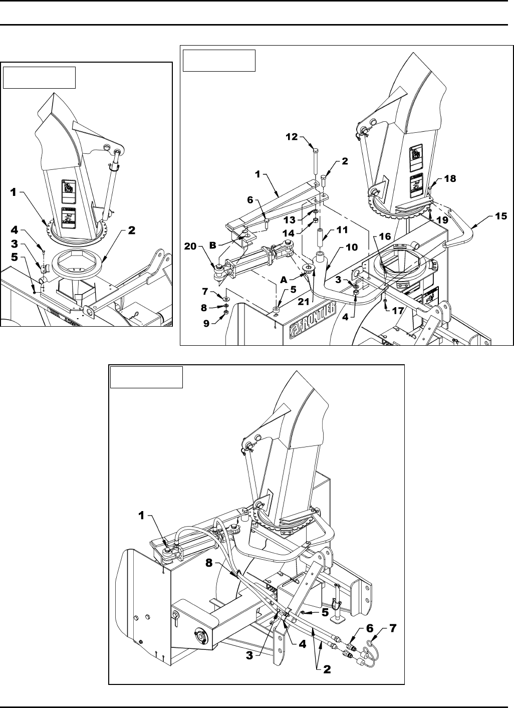 Page 17 of John Deere Snow Blower SB1148 User Guide