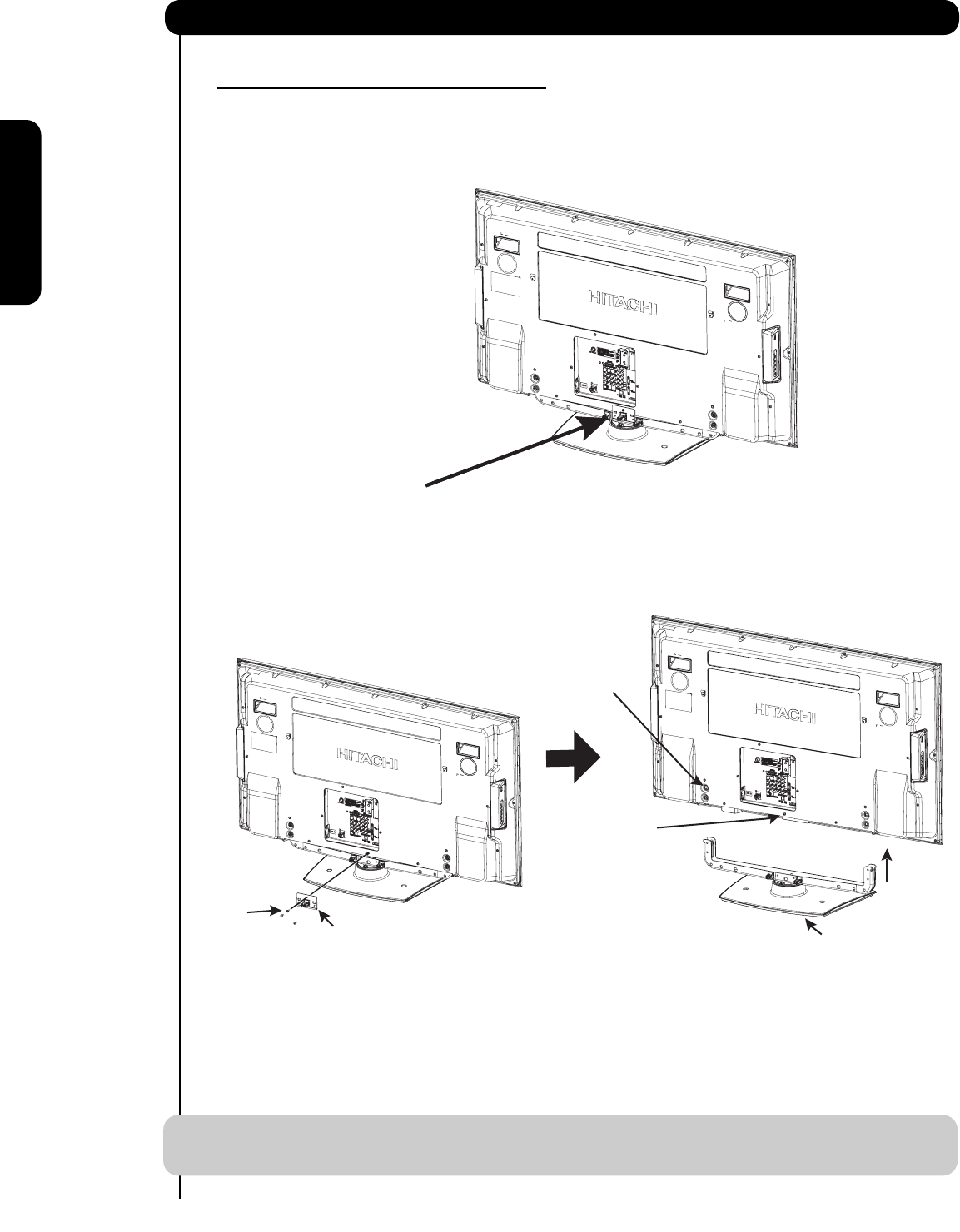 Page 6 of Hitachi Flat Panel Television 42HDT79 User Guide