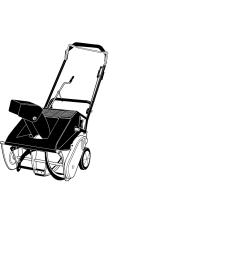 cub cadet 421r snow blower user manual [ 912 x 1337 Pixel ]