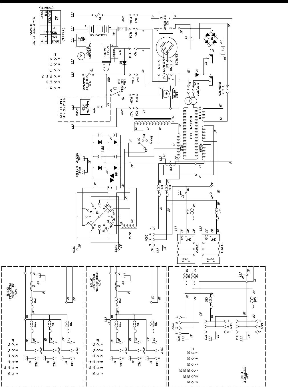 miller bobcat 250 engine diagram