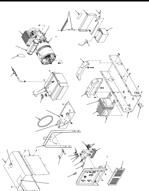 small resolution of page 23 of miller electric welding system bobcat 225g user guide miller bobcat welder parts diagram