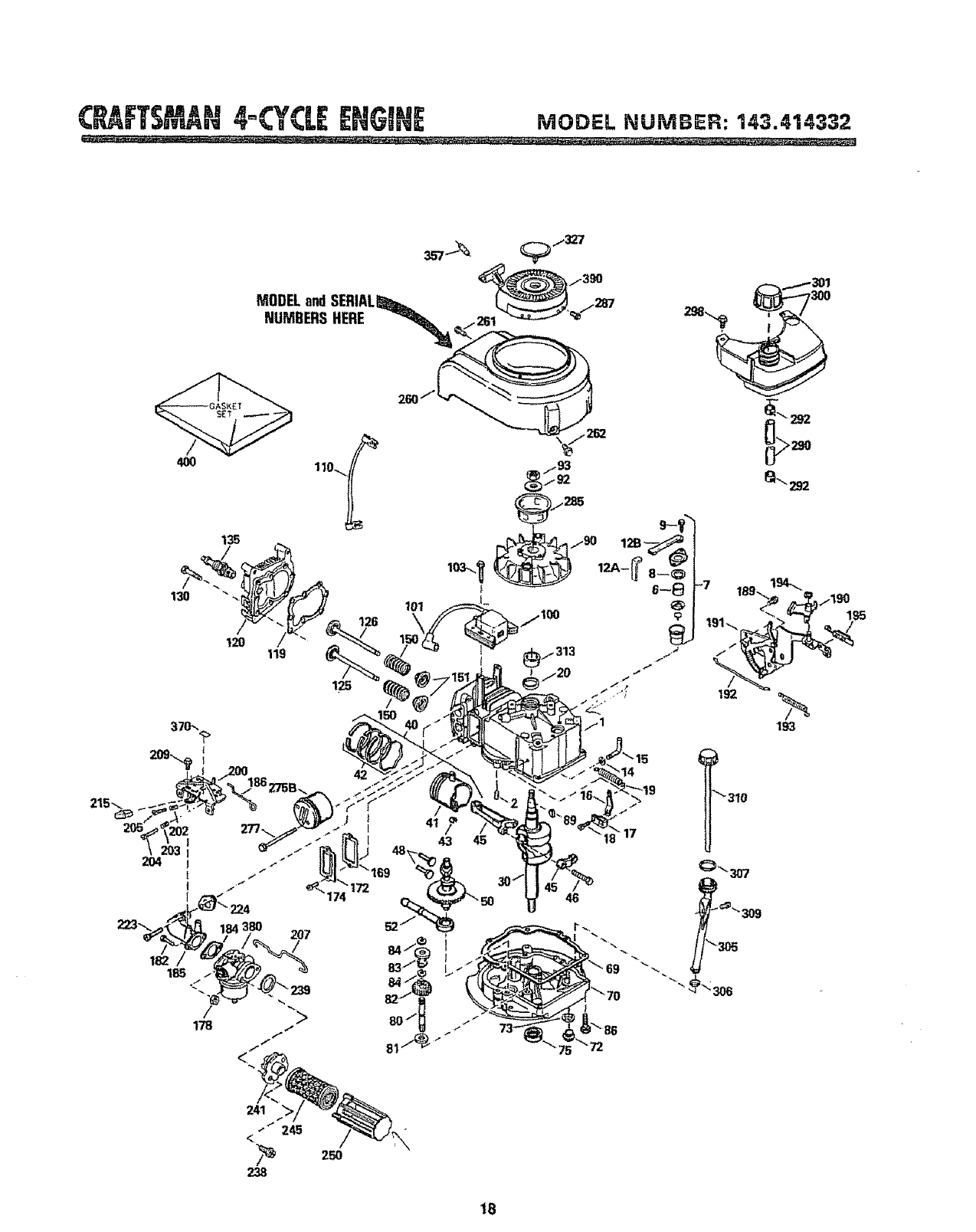 Page 18 of Sears Lawn Mower 917.383223 User Guide