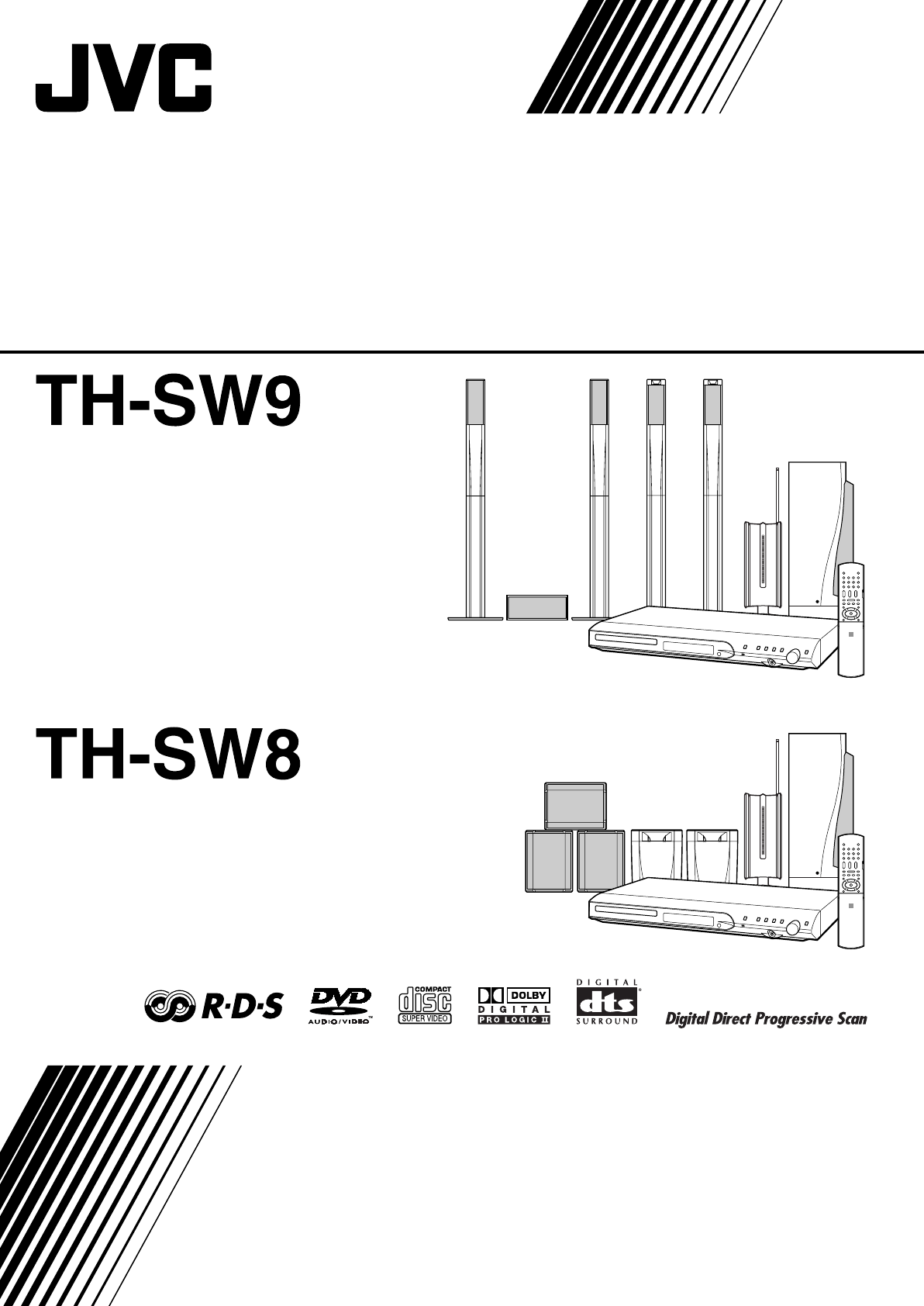 JVC Home Theater System SP-THS9C User Guide