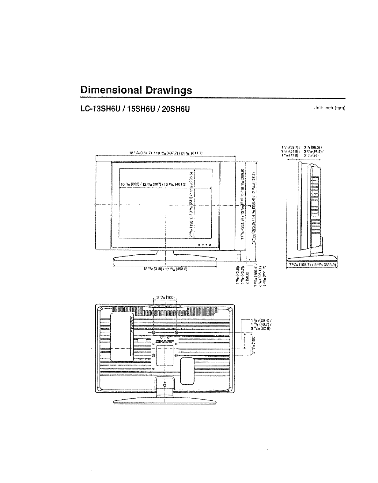 Page 30 of Sharp Flat Panel Television LC 20SH6U User