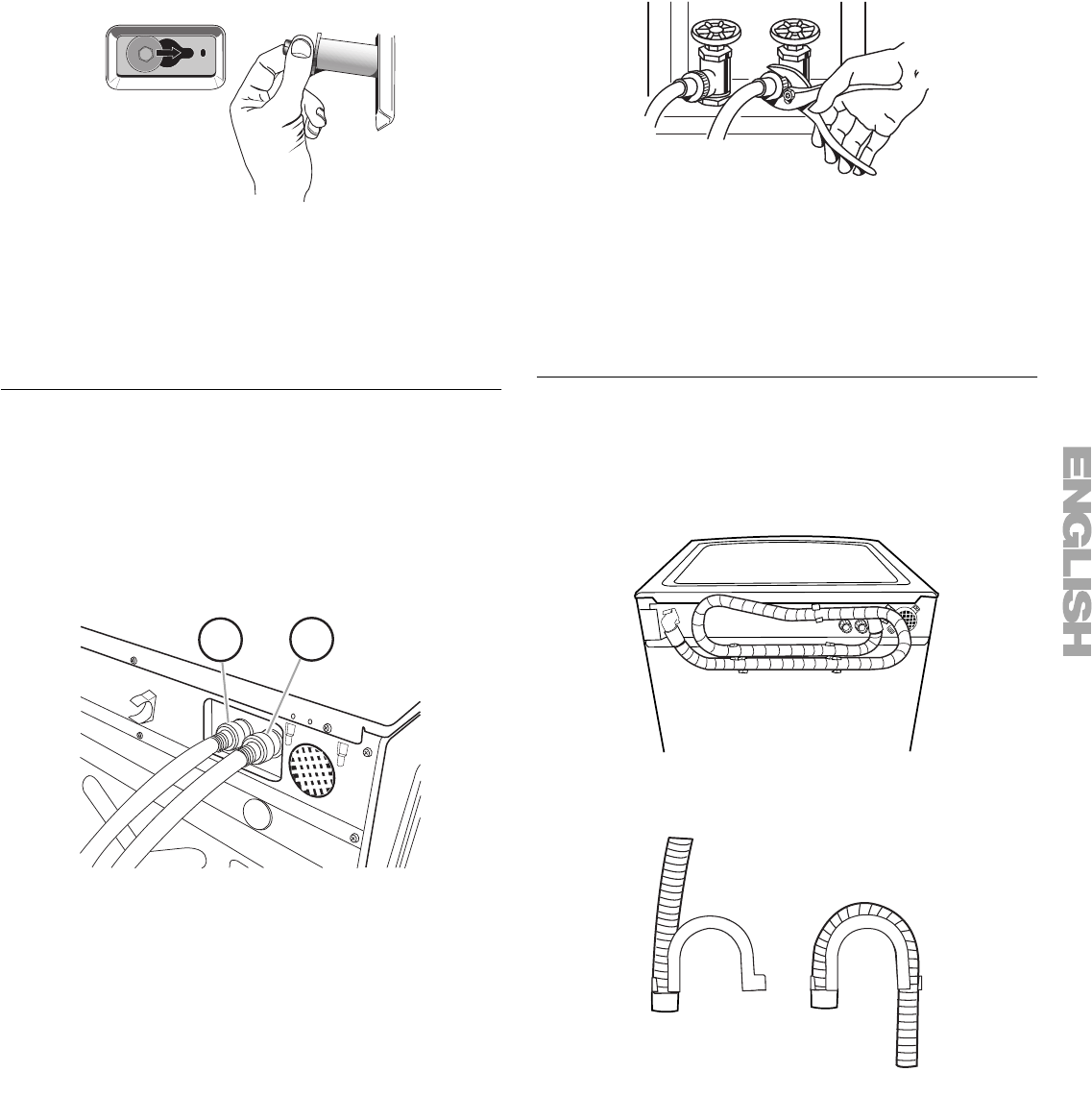 Page 9 of Kenmore Washer 110.4708 User Guide