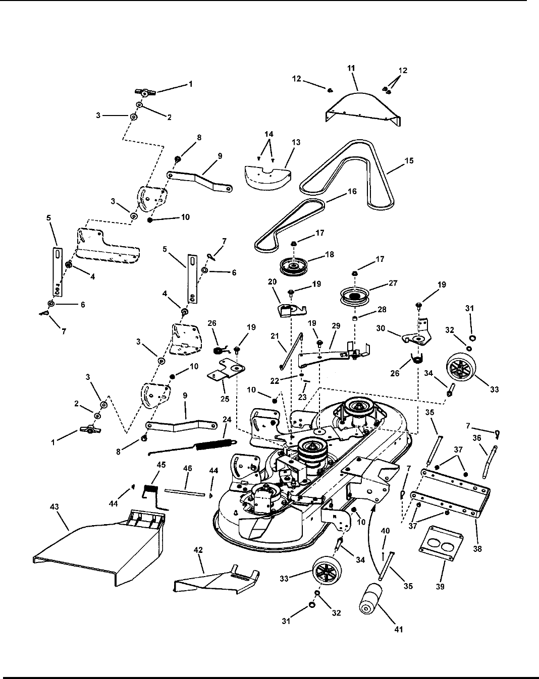 Page 28 of Snapper Lawn Mower LT-100 Series User Guide