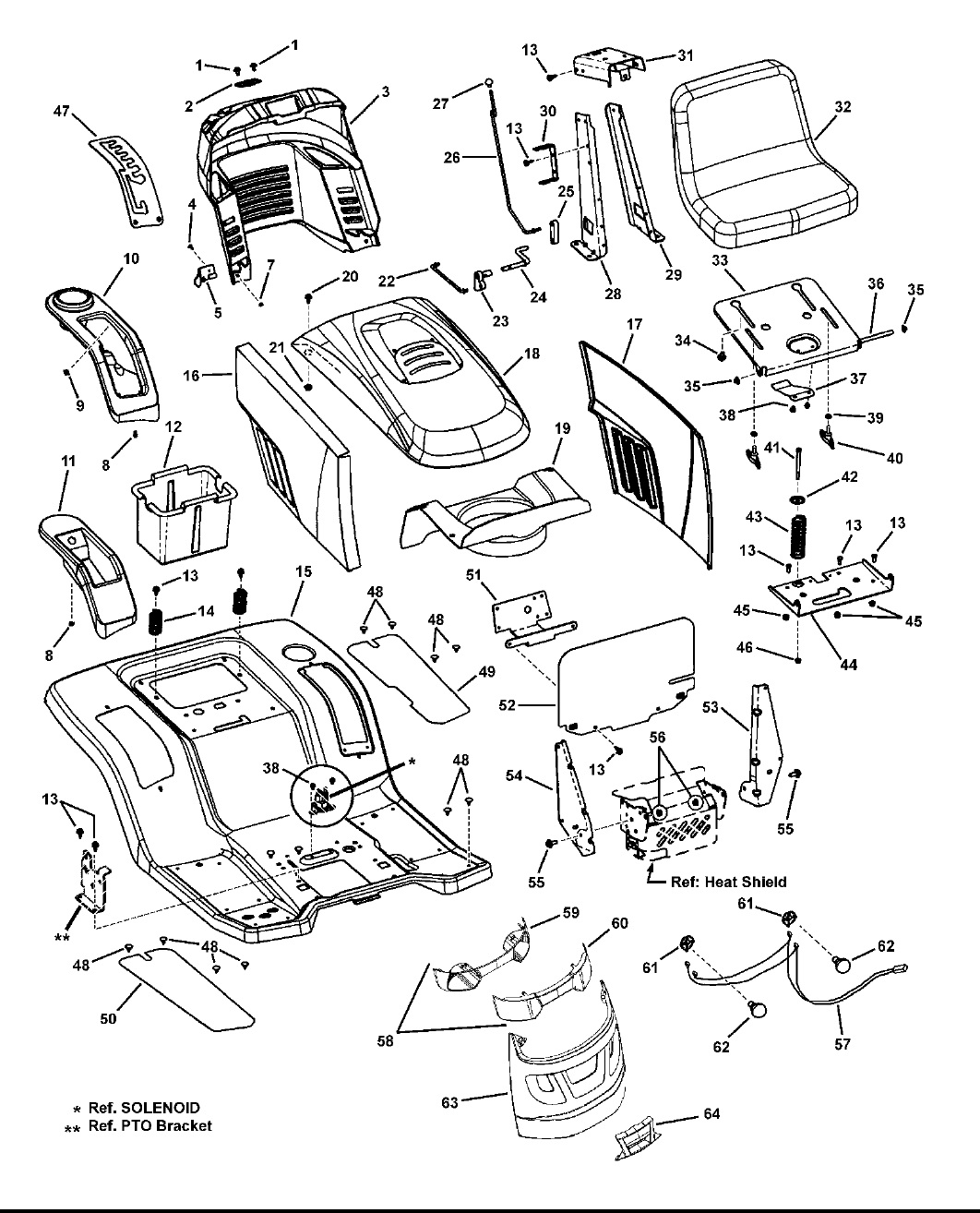 Page 4 of Snapper Lawn Mower LT-100 Series User Guide