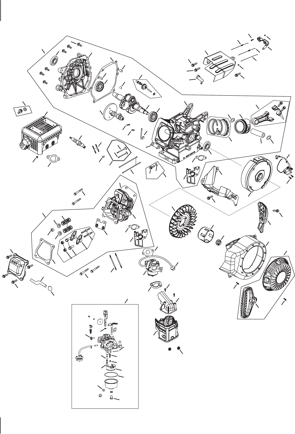 Page 6 of Troy-Bilt Snow Blower 2100 User Guide