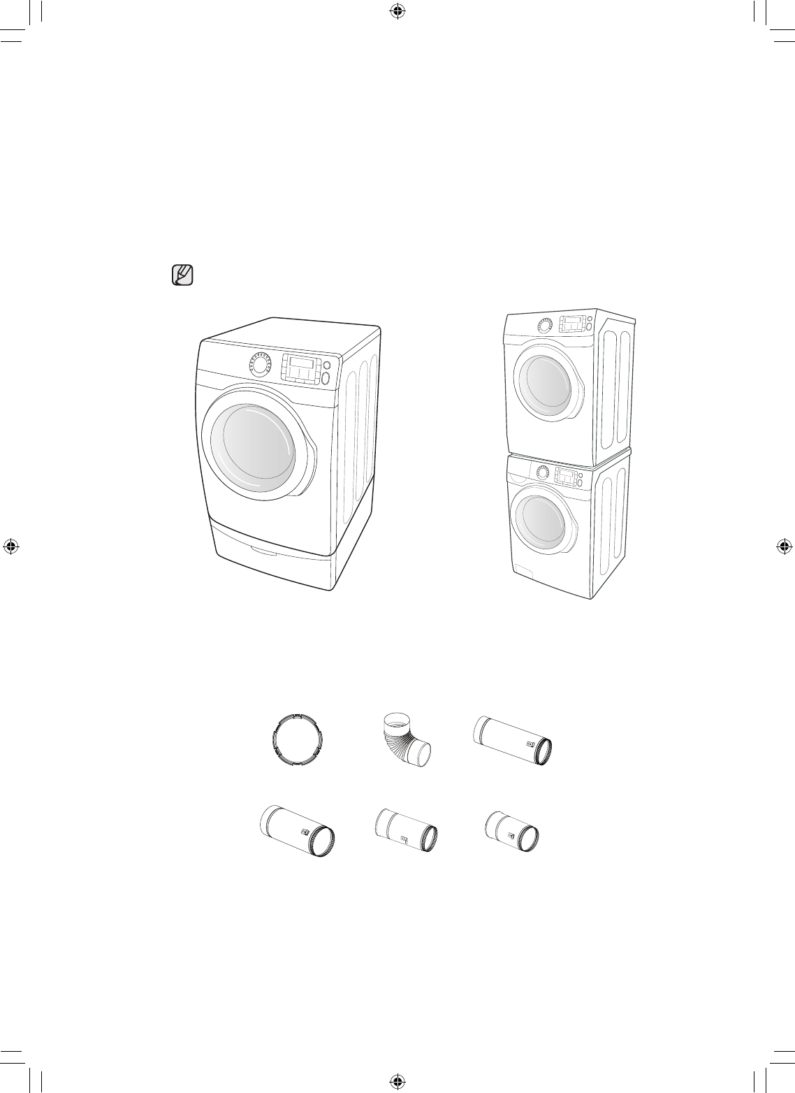 Page 3 of Samsung Clothes Dryer DC68-02836B User Guide