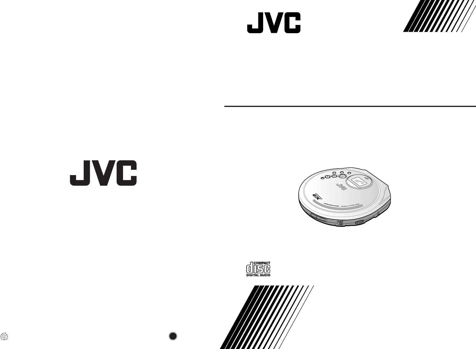 JVC Portable CD Player XL-PG37SL User Guide