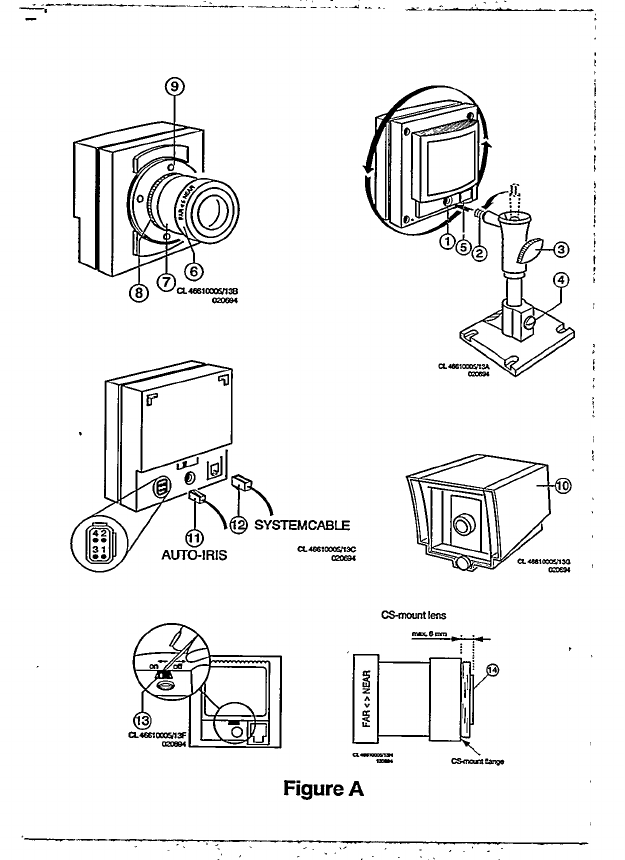 Page 3 of Philips Security Camera VCM8176/COT User Guide