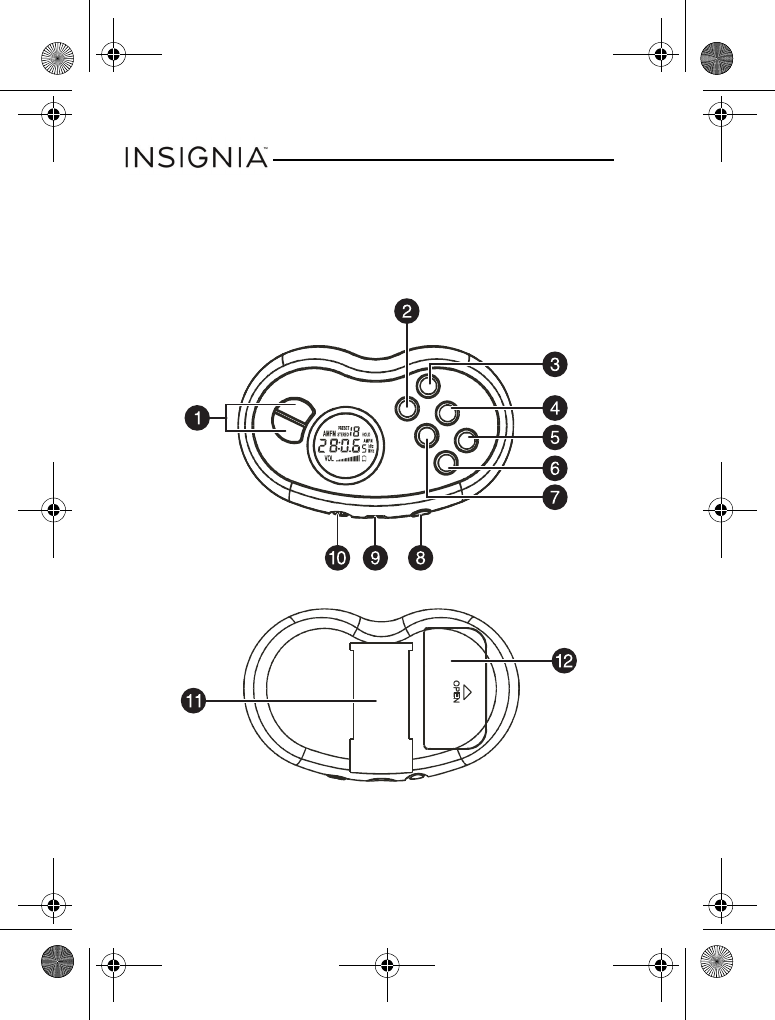Page 4 of Insignia Radio NS-R5111 User Guide