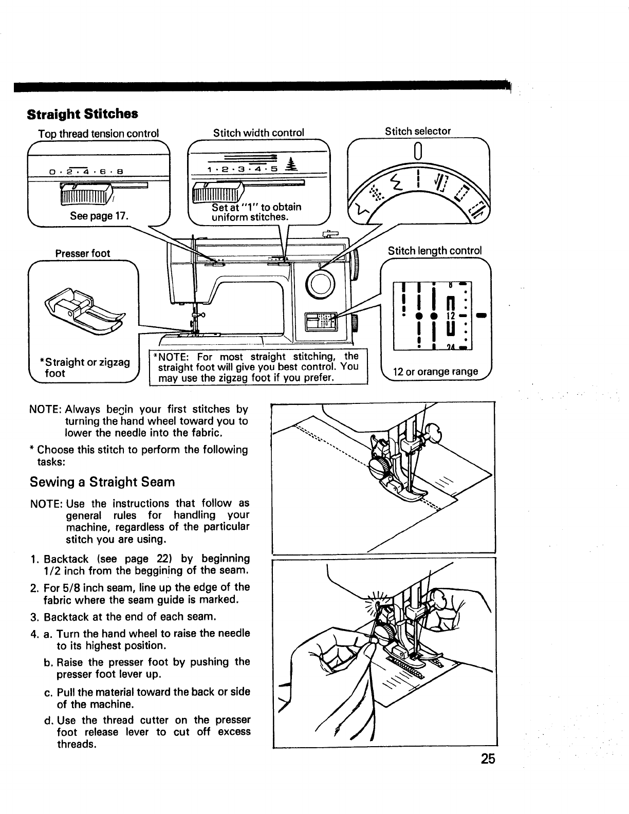 Page 27 of Kenmore Sewing Machine 14502 User Guide