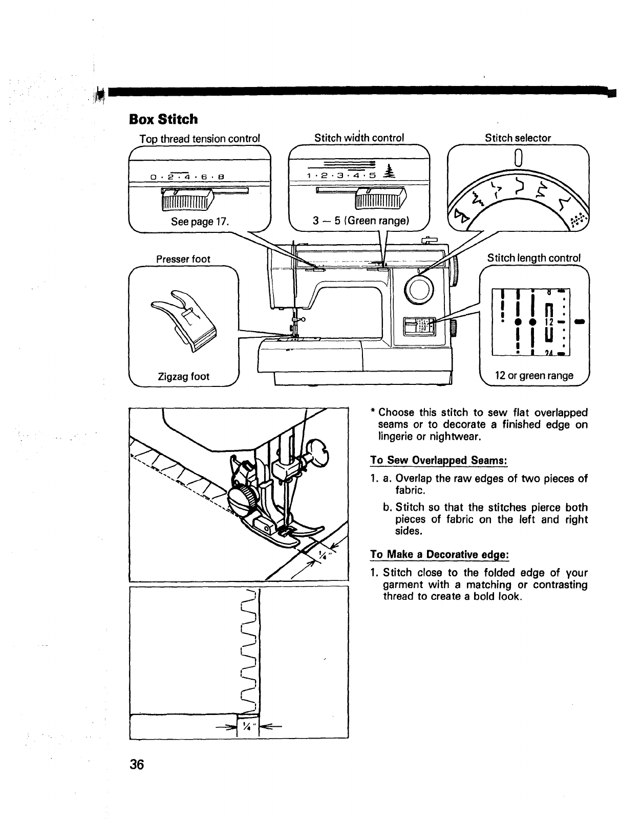 Page 38 of Kenmore Sewing Machine 14502 User Guide
