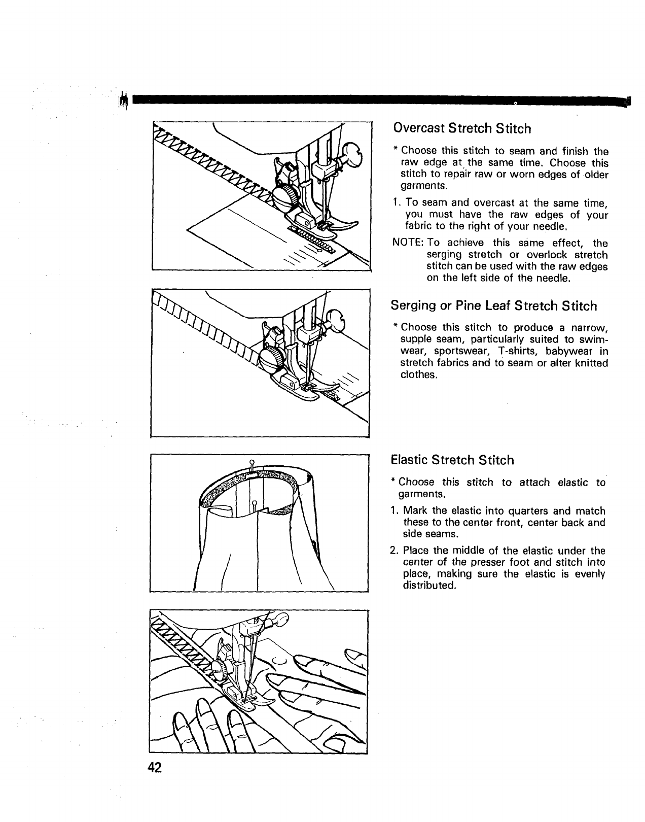 Page 44 of Kenmore Sewing Machine 14502 User Guide