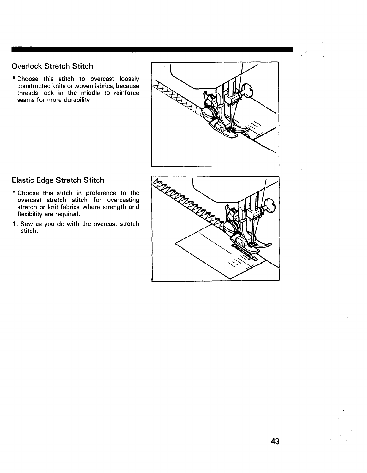 Page 45 of Kenmore Sewing Machine 11101 User Guide