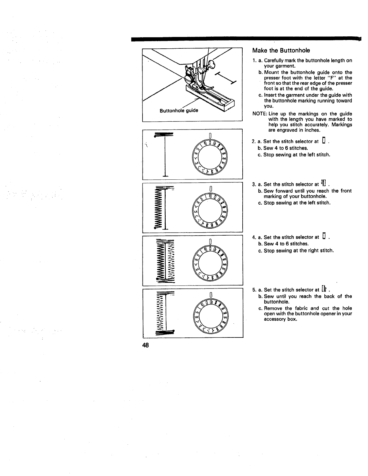 Page 50 of Kenmore Sewing Machine 10101 User Guide