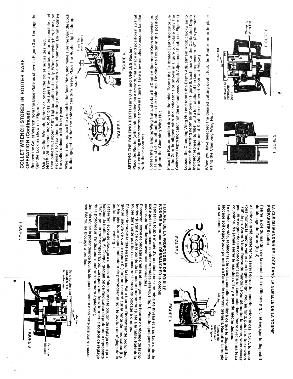 Page 5 of Black & Decker Router 7613-04 User Guide