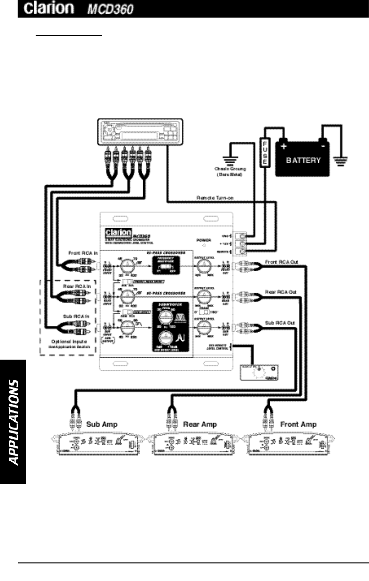 Page 8 of Clarion Stereo Equalizer MCD360 User Guide