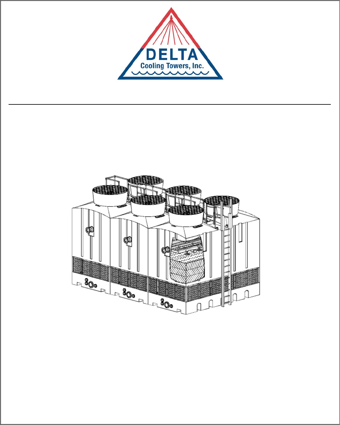 Delta Wheelchair TM Series Cooling Tower User Guide