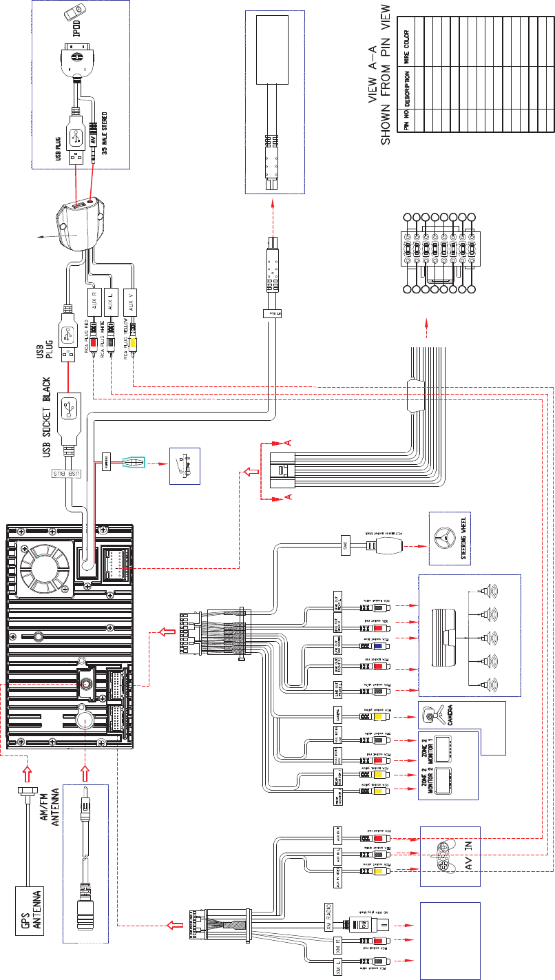 hight resolution of wiring harness diagram besides jensen uv10 wiring harness diagram as jensen vm9424 wiring diagram