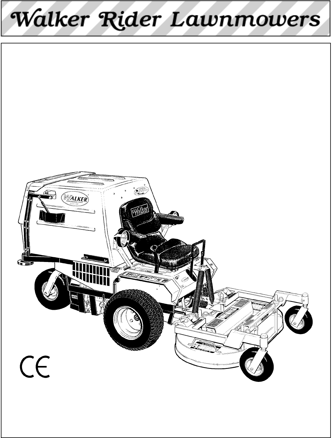 Walker Lawn Mower Ms 13 Hp User Guide