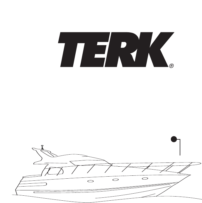 TERK Technologies Radio Antenna XMarine User Guide