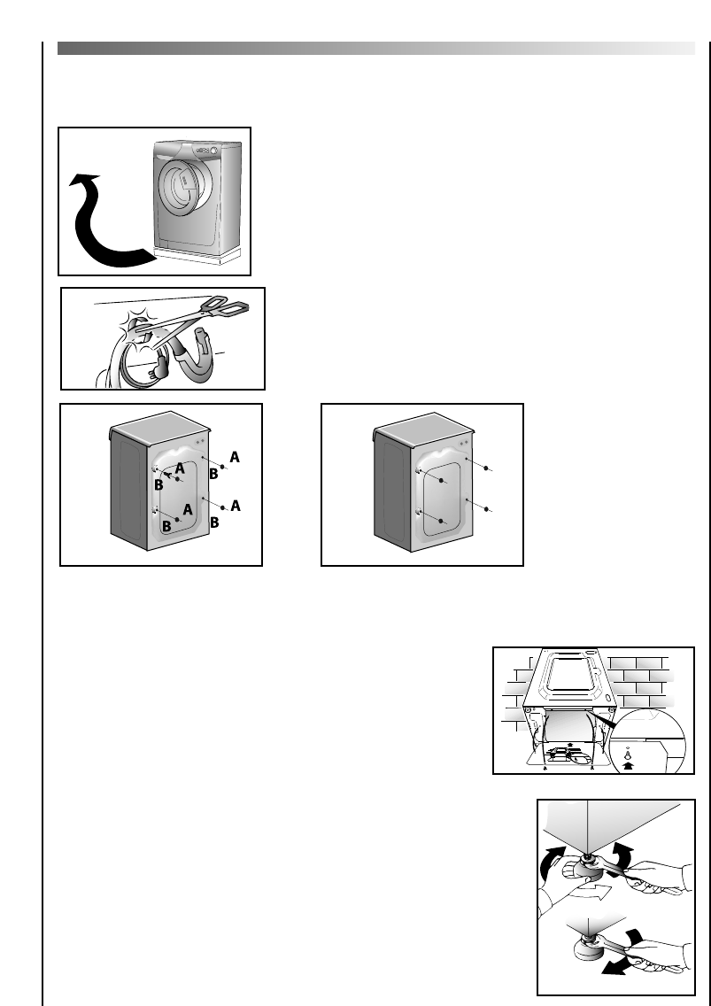 Page 28 of Hoover Washer washing machine User Guide