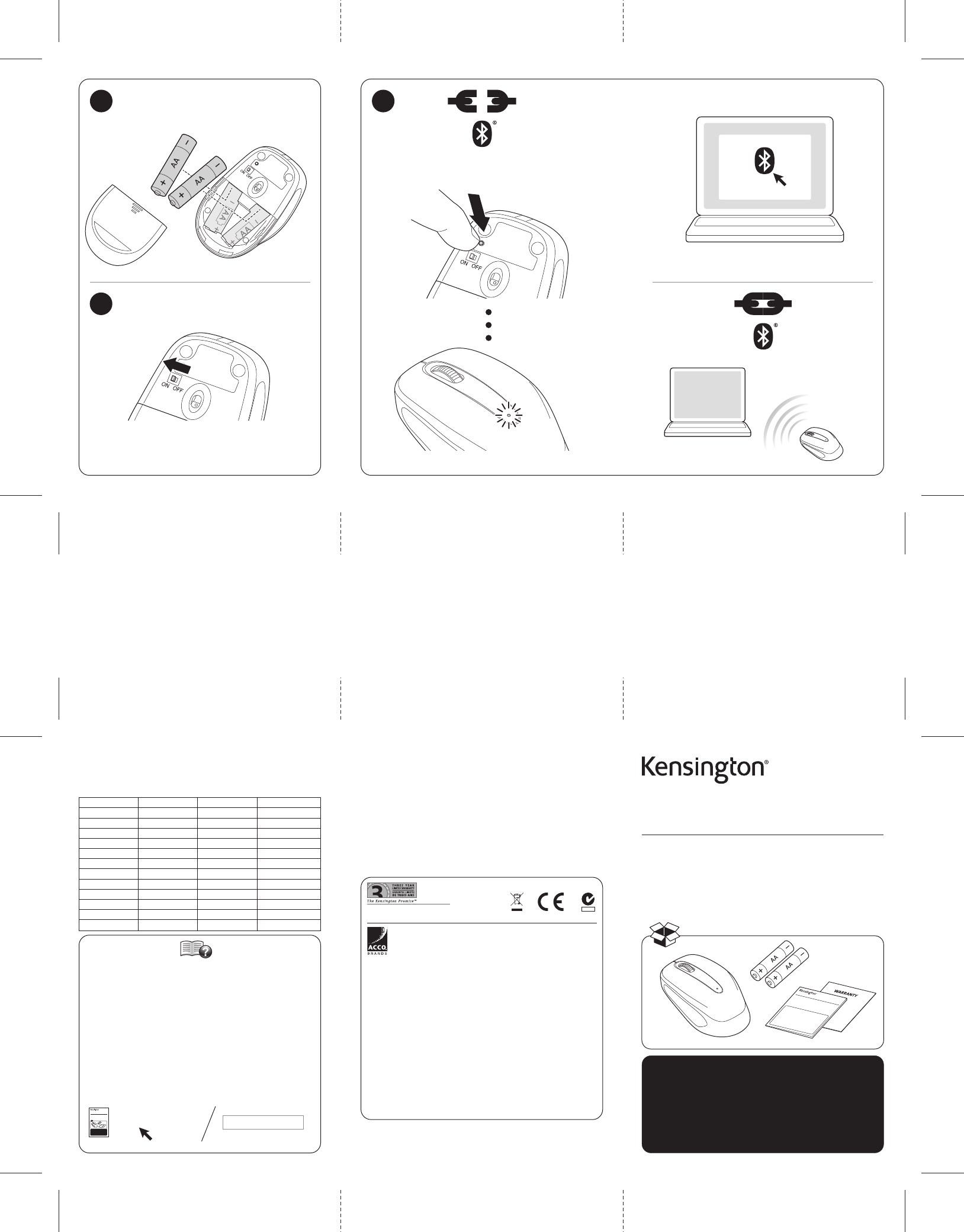 Kensington Tablet Accessory K72437 User Guide