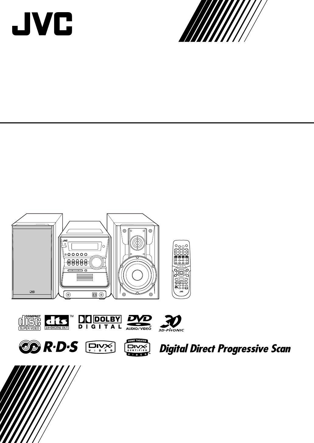 Jvc Stereo System Ux Gd7 User Guide