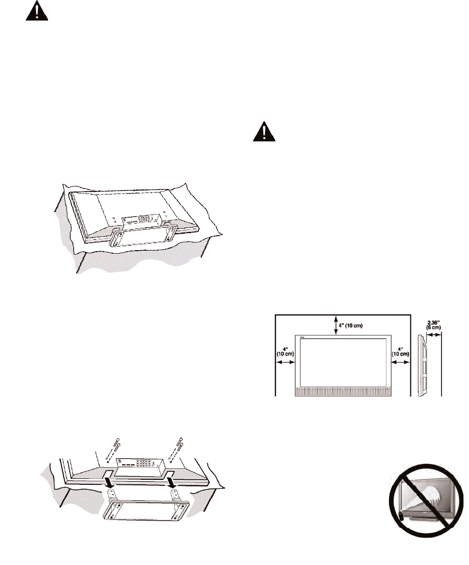Page 4 of Sanyo Flat Panel Television DP50747 User Guide