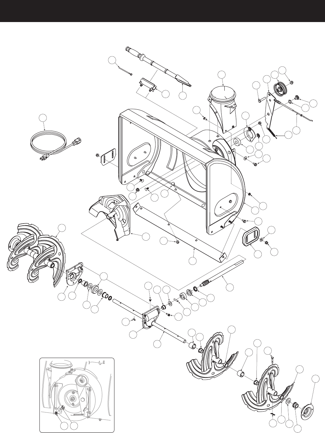 Page 26 of Craftsman Snow Blower 247.88955 User Guide