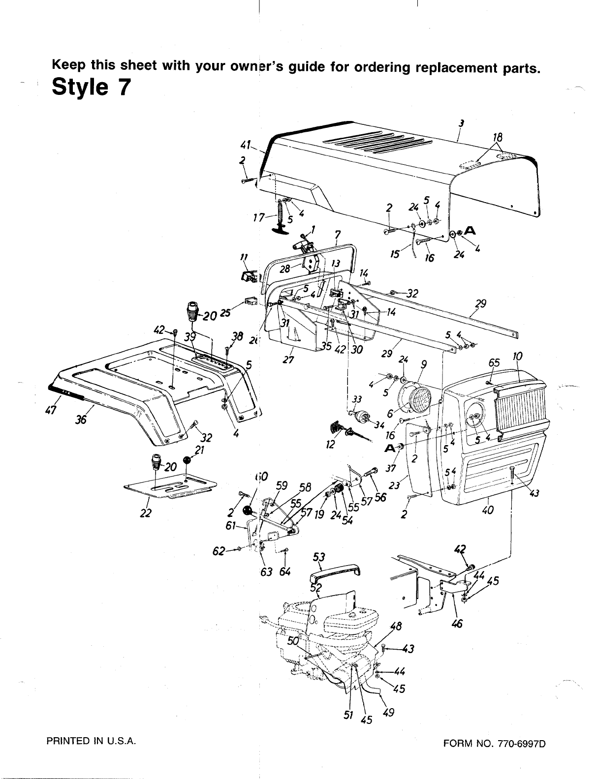 Page 33 of Bolens Lawn Mower 149-828-000 User Guide