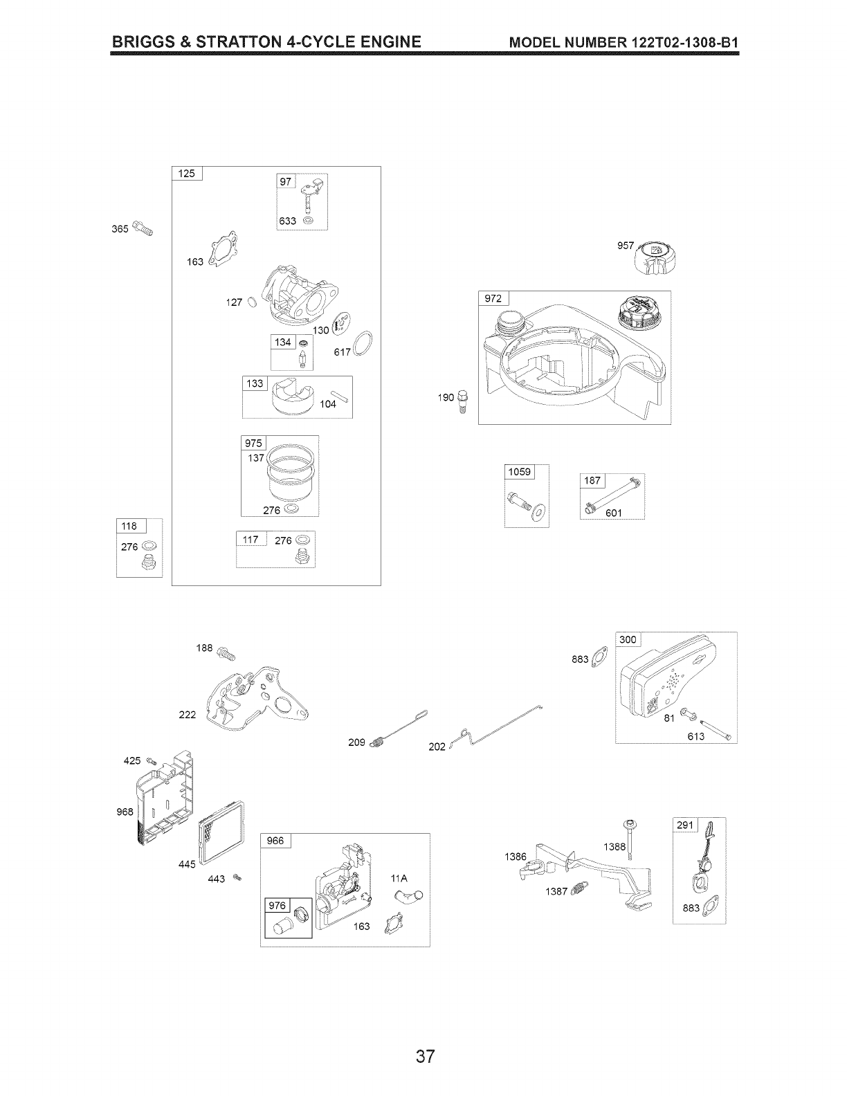 Page 37 of Craftsman Lawn Mower 917.389010 User Guide