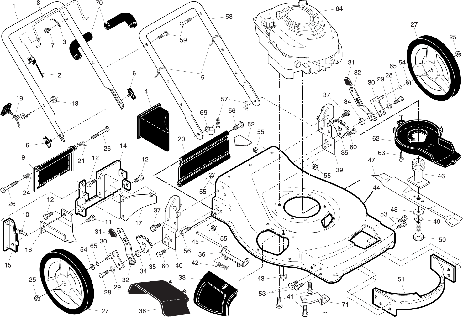 Page 16 of Husqvarna Lawn Mower 62522SH User Guide
