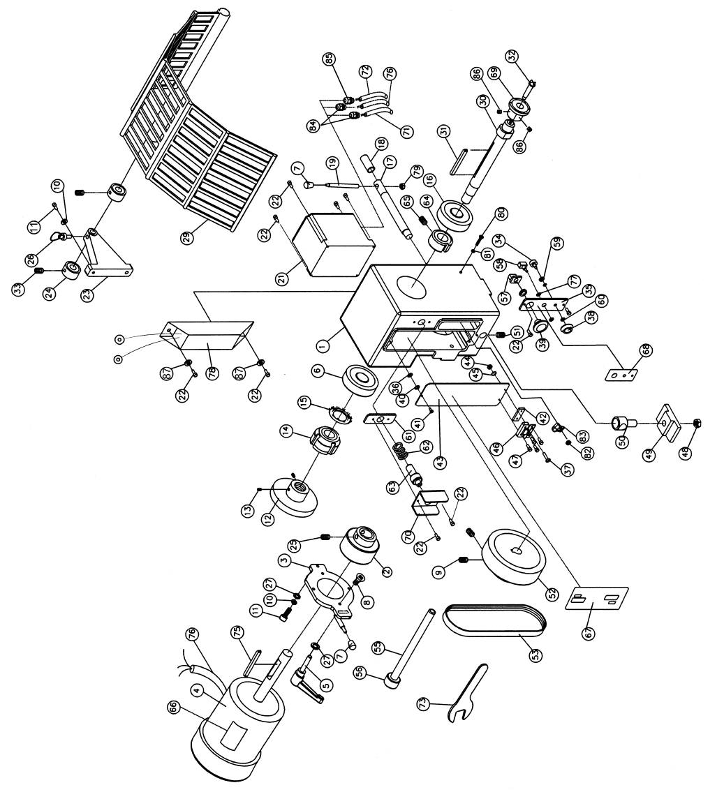Page 20 of Powermatic Lathe 3520A User Guide
