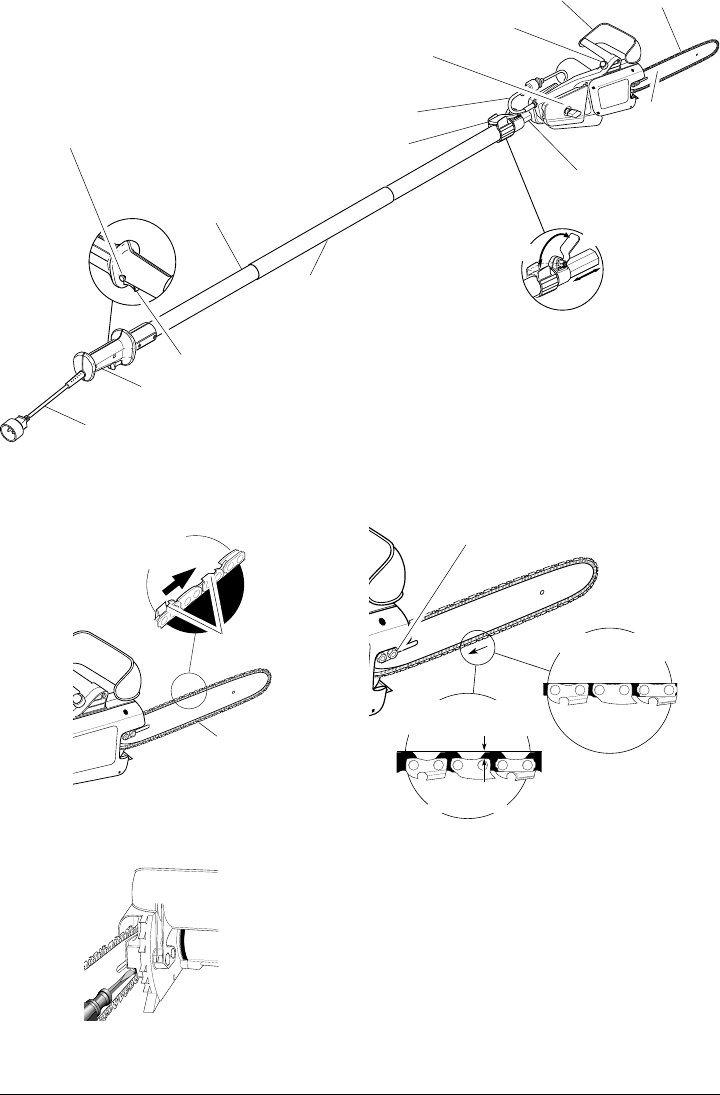 Page 12 of Remington Pole Saw RPS2N1: 106821A User Guide