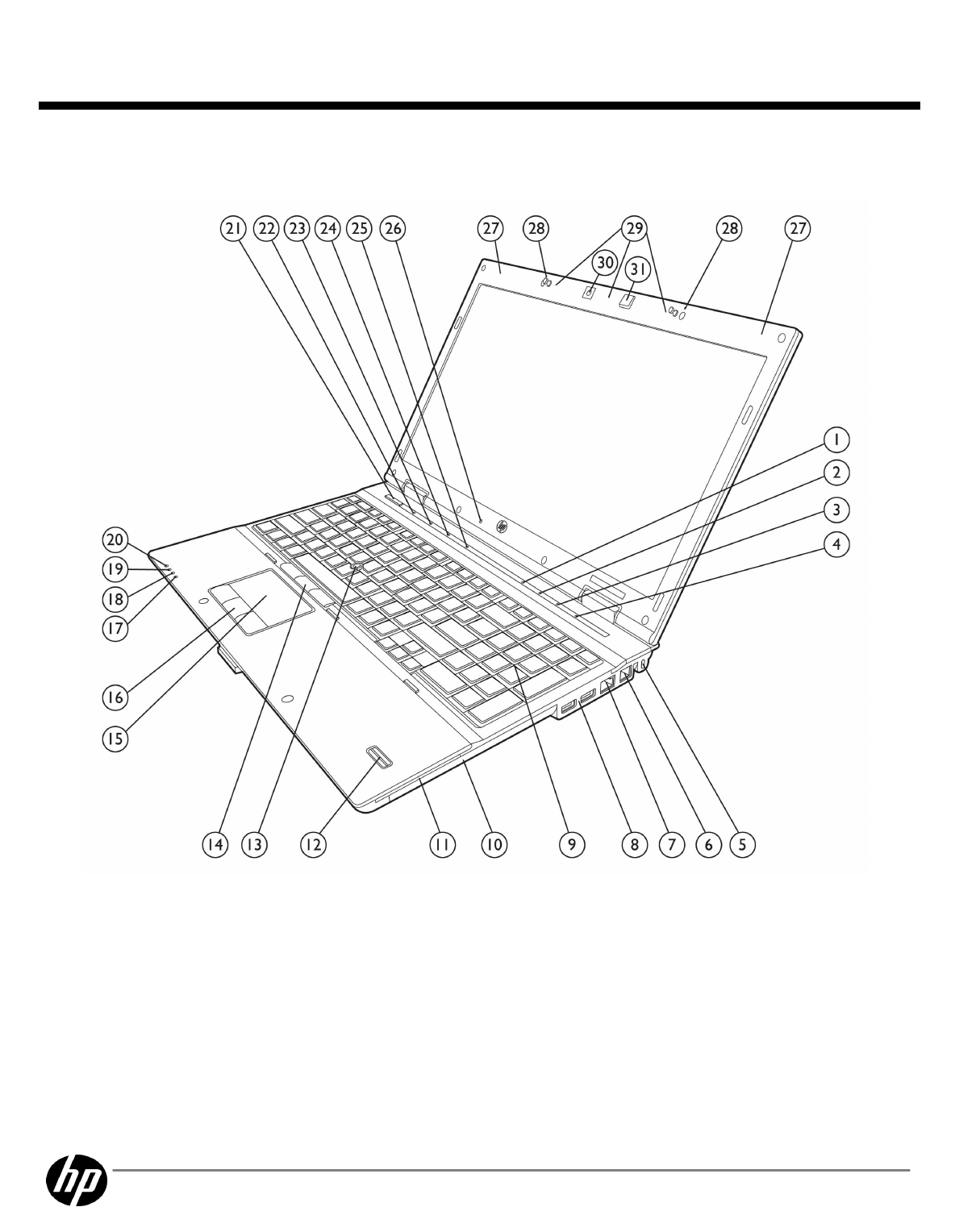 HP (Hewlett-Packard) Laptop 8540W User Guide