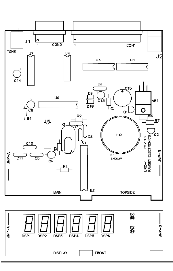 Page 29 of Ramsey Electronics Universal Remote URC1 User
